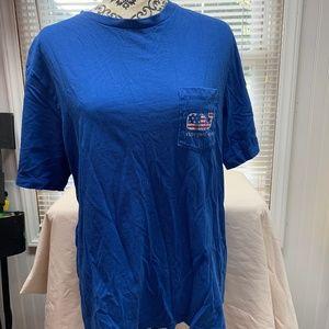 Vineyard Vines Men's Shirt Size Medium, Blue